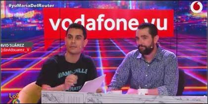 Dani Mateo y David Suárez.