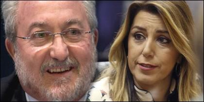 Susana Díaz y Bernat Soria