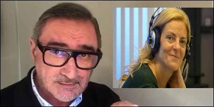 Carlos Herrera anuncia la muerte de Paloma Tortajada (COPE).