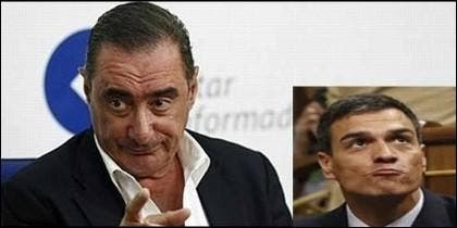 Pedro Sánchez no quería ir al programa de Carlos Herrera.