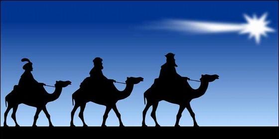 La Estrella de Belén y los Reyes Magos.