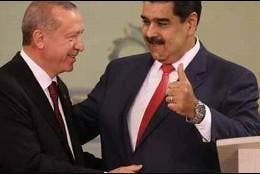 Maduro y Erdogan
