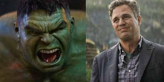 Mark Ruffalo el interprete de Hulk