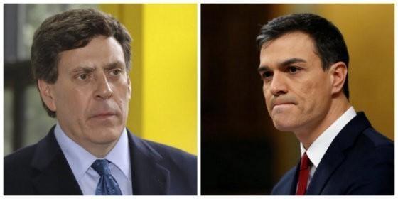 Juan Carlos Quer, contra Pedro Sánchez y Pablo Iglesias.