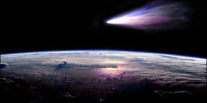 Cometa Halley.