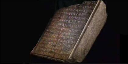 La Tabltea de Piedra del Rey Salomón.