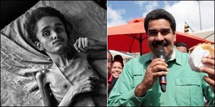Hambruna en la Venezuela chavista