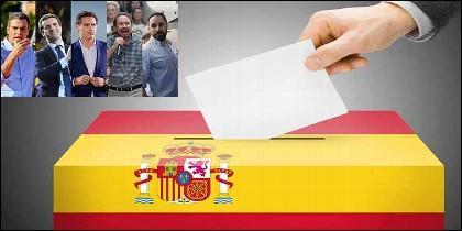 España: Elecciones generales del 28 de abril de 2019.