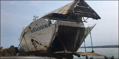 El Rosa Eugenia, una de las embarcaciones más importantes e imponentes de Venezuela.