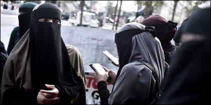 Una de las modalidades de velo islámico.