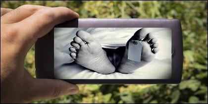 Un selfie mortal.