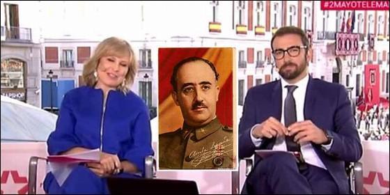 Cágate lorito: La obsesion hace a Telemadrid anunciar que el 2 de Mayo fue un levantamiento popular contra Franco