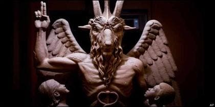Baphomet, la escultura del Diablo presentada en Detroit.