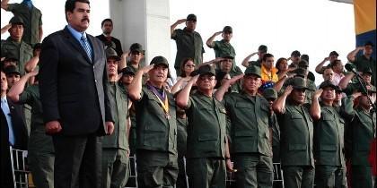 El tirano Nicolás Maduro.