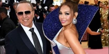 Thalía y su esposo
