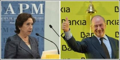 Victoria Prego y Rodrigo Rato.