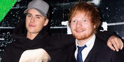 Justin Bieber y Ed Sheeran la lían en Instagram