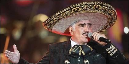 El cantante de rancheras Vicente Fernández.
