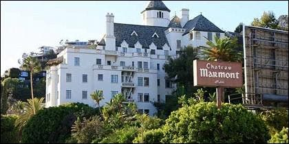 El hotel Chateau Marmont en Hollywood