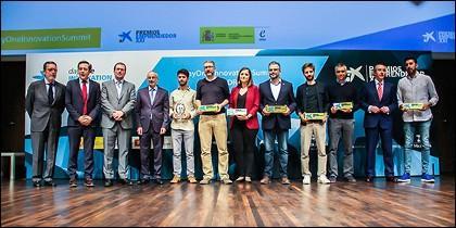 Ganadores de los Premios EmprendedorXXI