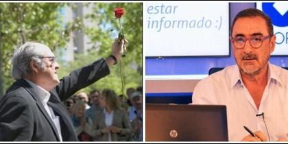 Ángel Gabilondo y Carlos Herrera.