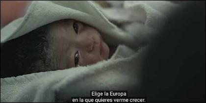 Fotográma del vídeo 'Elige tu futuro'.