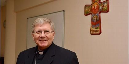 El obispo de Astorga, Juan Antonio Menéndez.