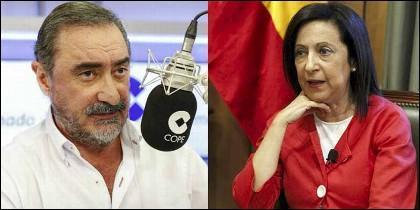 Carlos Herrera y Margarita Robles.