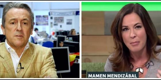 Hermann Tertsch y Mamen Mendizabal.
