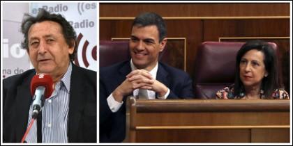 Alfonso Ussía poniendo a escurrir a Sánchez, Robles y demás patulea cobarde del 'Gobierno bonito'.