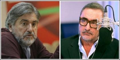 Jesús Eguiguren y Carlos Herrera.