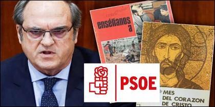 Angel Gabilondo (PSOE) y sus dos catecismos.