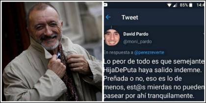 Arturo Pérez-Reverte y el tuit de marras.