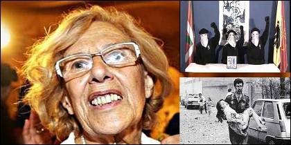 Manuela Carmena, los asesinos de ETA y las víctimas del terrorismo.