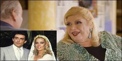 María Jiménez ahora y cuando se caso con Pepe Sancho.