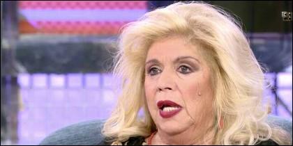 La cantante María Jiménez.