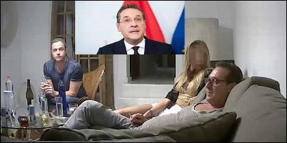 El vídeo de Heinz-Christian Strache con la 'rusa', que conmociona Austria.