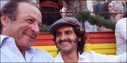 Fernando Domecq con Morante de la Puebla.