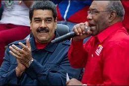 Aristobulo Isturiz (vicepresidente Sectorial para el Socialismo Social y Territorial de Maduro).