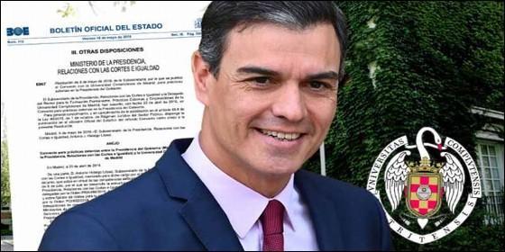 Pedro Sánchez y sus pufos.