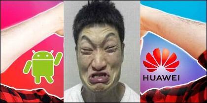 Colapso de las ventas de teléfonos móviles de Huawei.