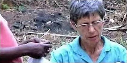 La misionera española Inés Nieves Sancho.