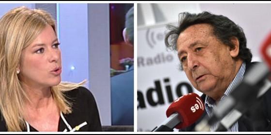Esther Palomera y Alfonso Ussía.