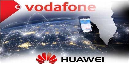 Vodafone y los móviles de Huawei.