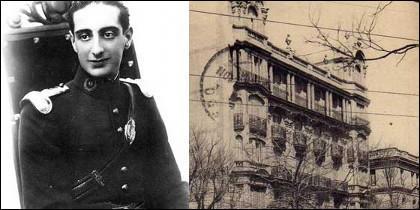 El jefe de 'La Quinta Columna', Rodríguez Aguado, y la embajada turca en la calle Zurbano.