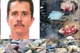 Las víctimas de El Mencho