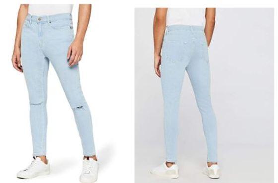 406b0219a8 Pantalones vaqueros de hombre rotos o ripped jeans