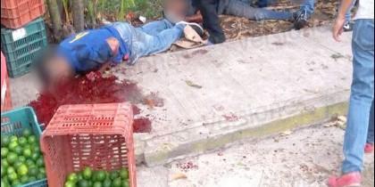 Sicarios asesinan brutalmente a cinco vendedores de limones