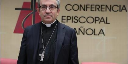 El secretario general de la CEE, Luis Argüello.