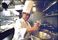 La cocinera de la Casa Blanca